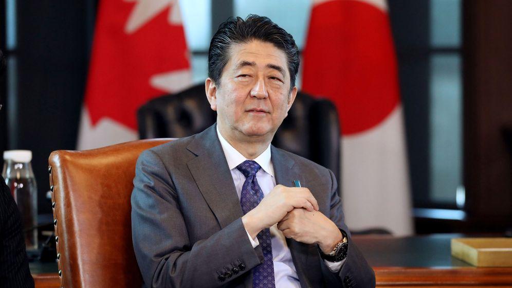 Foto: Shinzo Abe, en una imagen de archivo el pasado abril. (Reuters)