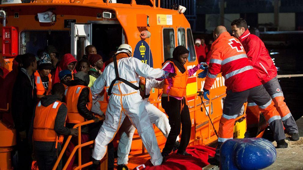 España recibe ya más inmigrantes irregulares de Marruecos que Italia de Libia