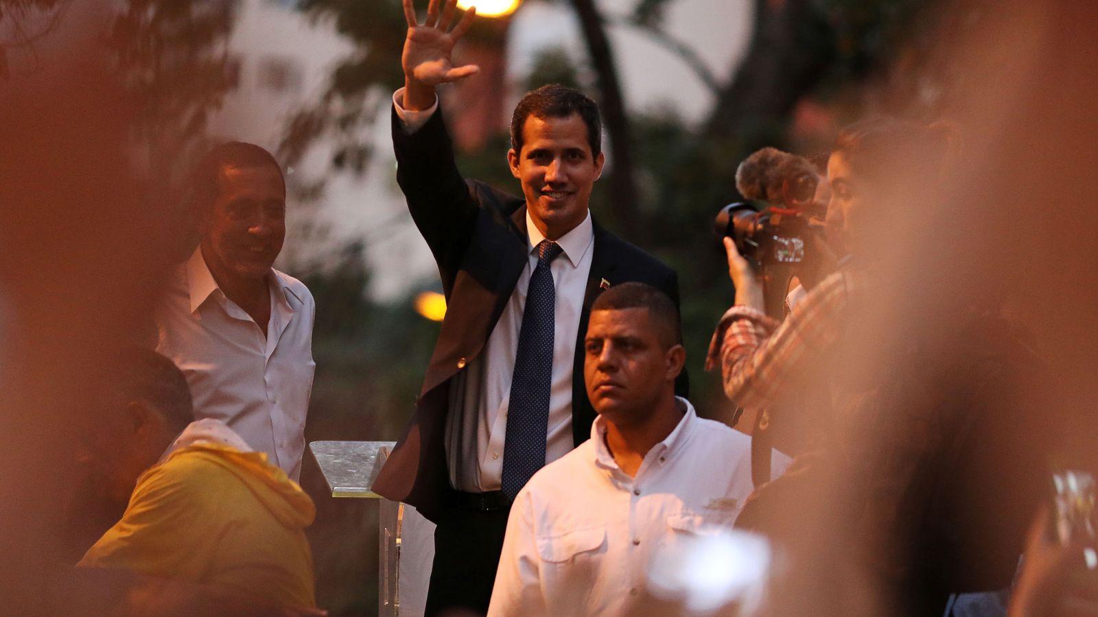 Foto: Juan Guaidó, proclamado presidente interino de Venezuela. (Reuters)