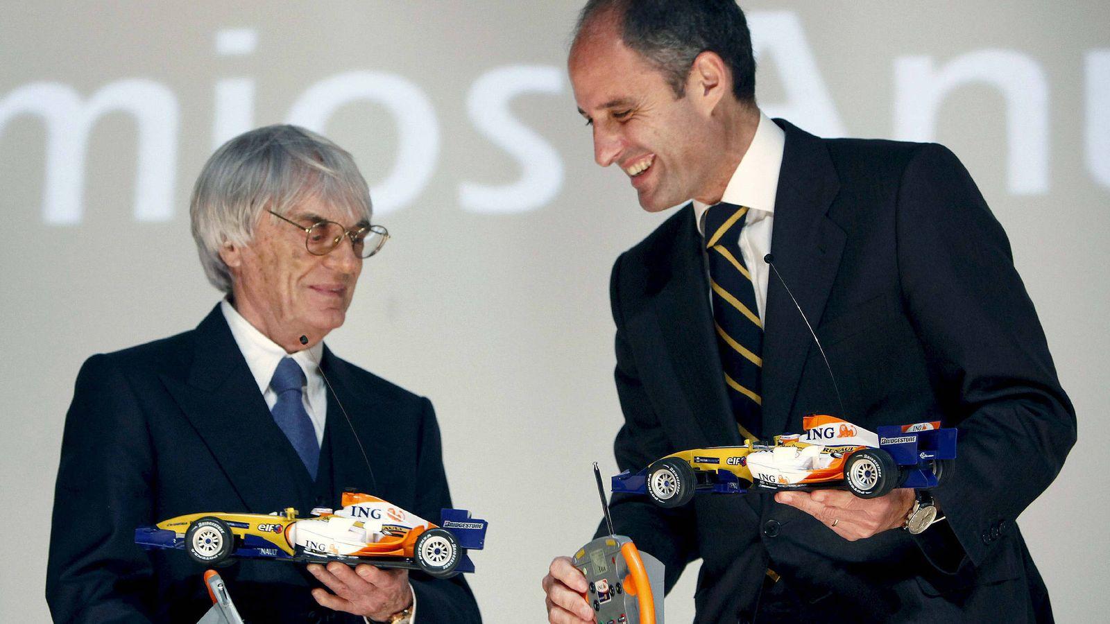 Foto: Bernie Ecclestone y Francisco Camps, en una imagen de 2009.