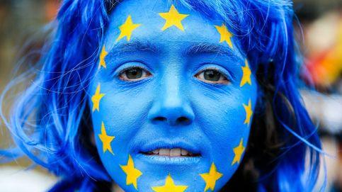 Protesta durante el Consejo de ministros europeos