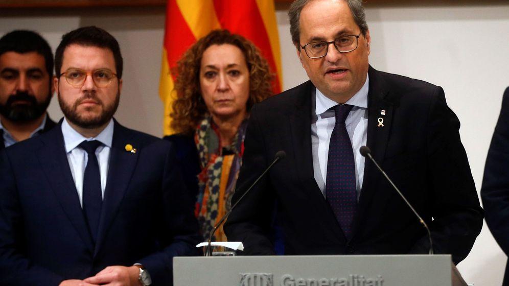Foto: El presidente de la Generalitat, Quim Torra (d). (EFE)