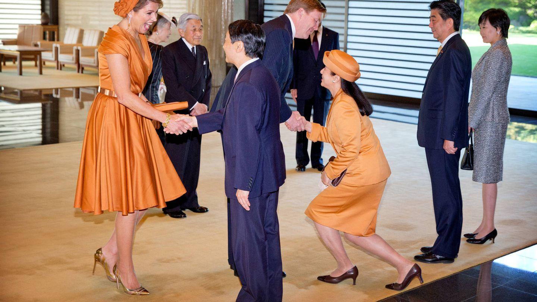 Guillermo y Máxima, de visita de Estado a Japón. (Gtres)