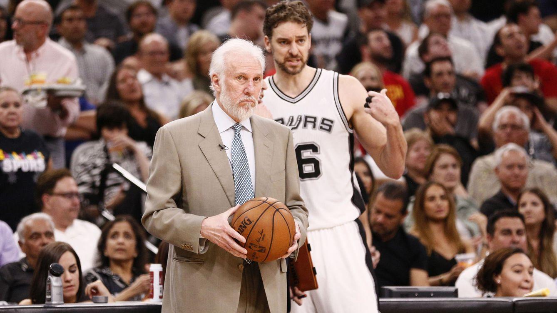 Popovich, entrenador de los Spurs de Gasol, estalla: Merecimos que nos abofetearan