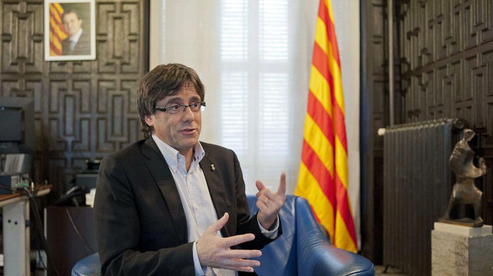Foto: El alcalde de Girona, el convergente Carles Puigdemont. (EFE)