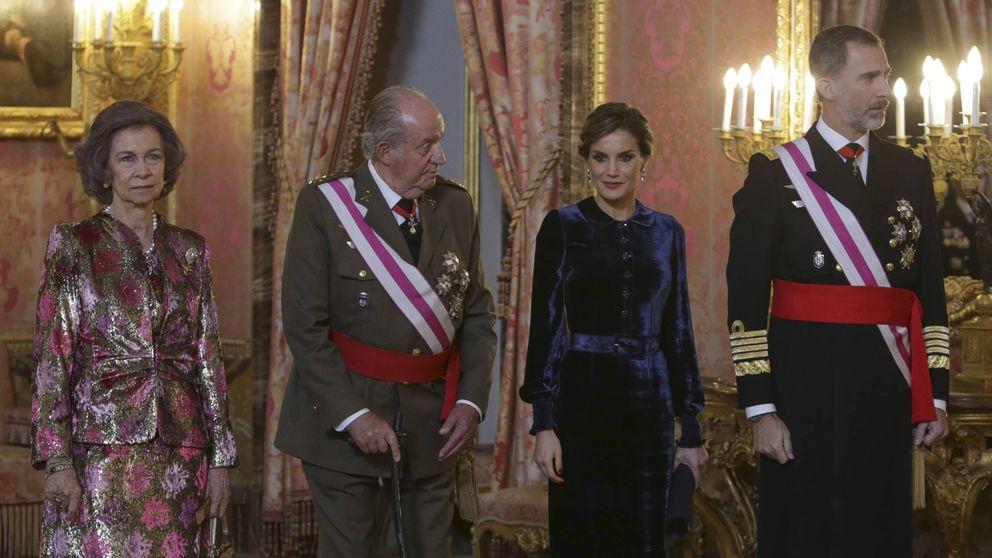 Felipe VI, Letizia, Juan Carlos I y Sofía: póquer de reyes en la Pascua Militar