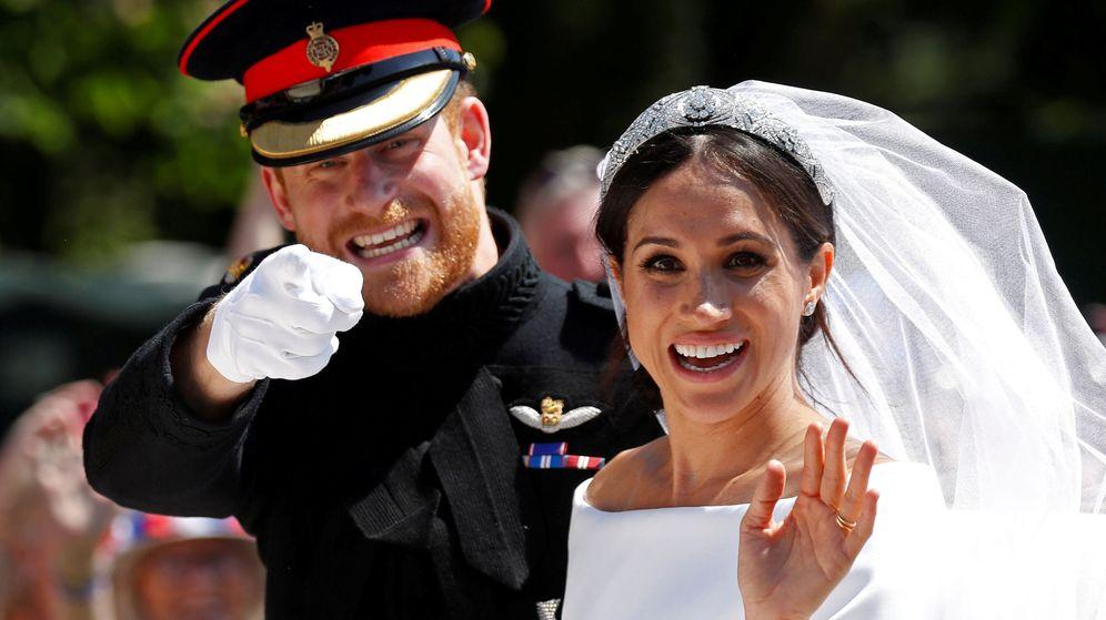 Foto: Boda de Meghan Markle y el príncipe Harry. (Reuters)