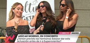 Post de 'Socialité' y 'Viva la vida' se saltan el veto de Mediaset a las Azúcar Moreno