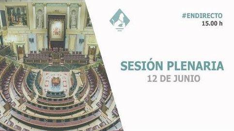 Siga el primer pleno con Pedro Sánchez de presidente