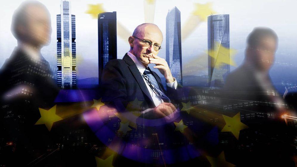 Foto: Andrea Enria, presidente del Mecanismo Único de Supervisión (MUS) del BCE.