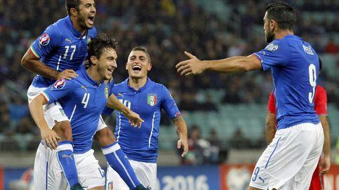 Italia saca billete para la Eurocopa y Holanda aún se mantiene con vida
