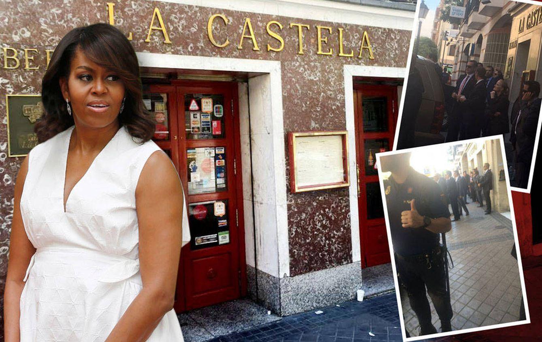 Foto: Michelle Obama en un montaje realizado por Vanitatis