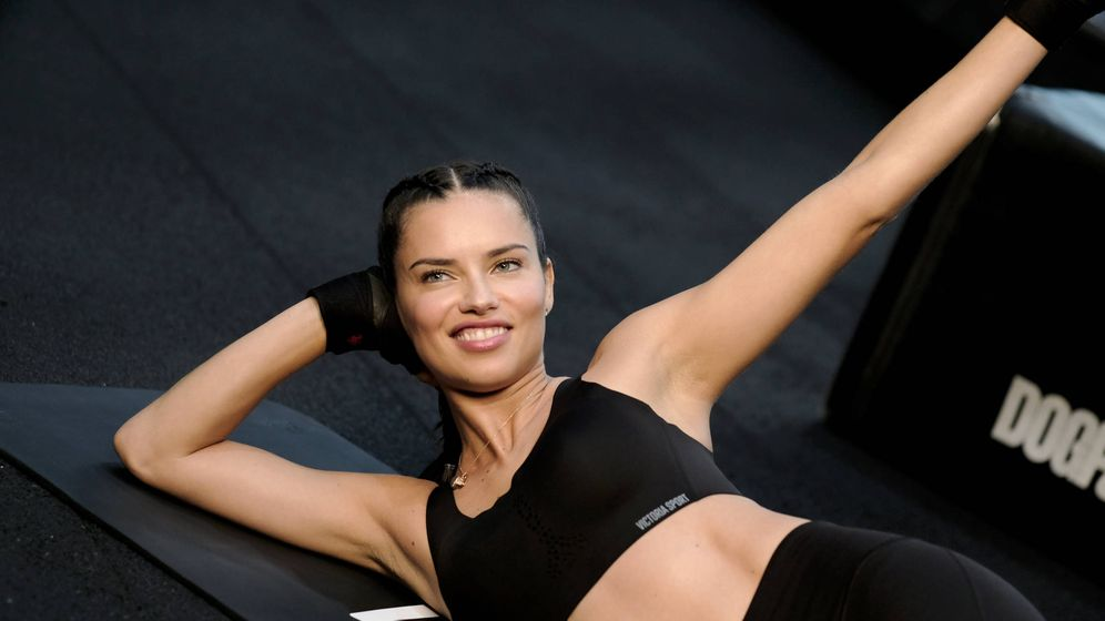 Foto: Adriana Lima para Victoria's Secret. (Getty)