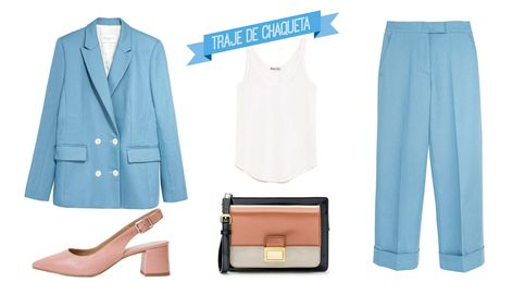 De Inma Cuesta a Alexa Chung: tres looks impecables en azul que nunca pasarán de moda