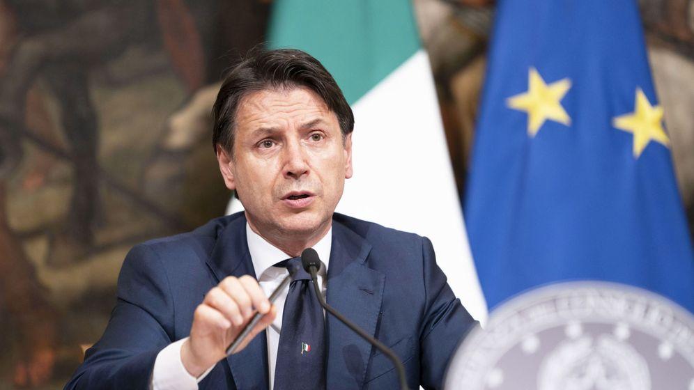 Foto: El primer ministro italiano, Giuseppe Conte. (Reuters)