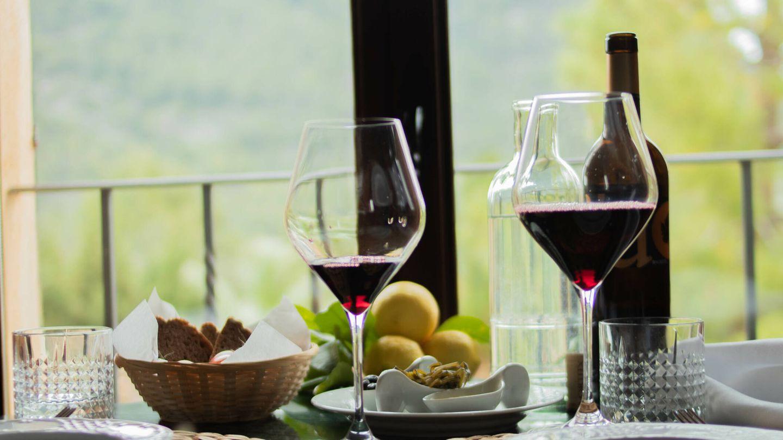 Selección de vinos de la isla.