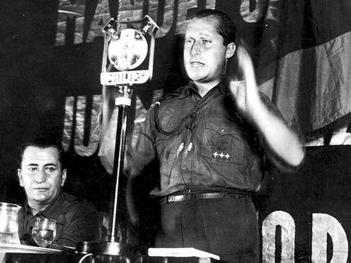 Foto: El líder de Falange Española, José Antonio Primo de Rivera.
