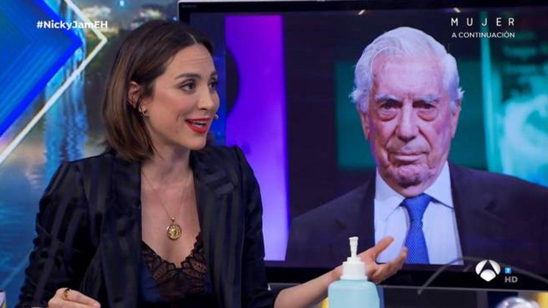 La marquesa de Griñón, hablando sobre Vargas Llosa. (Atresmedia)