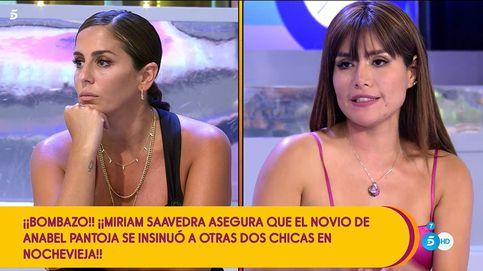 Miriam Saavedra lleva a Anabel Pantoja al límite: abandona el plató de 'Sálvame'