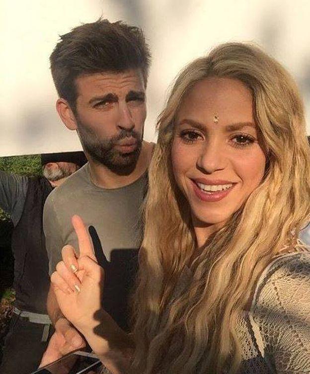 Foto: Piqué y Shakira. (RR.SS.)