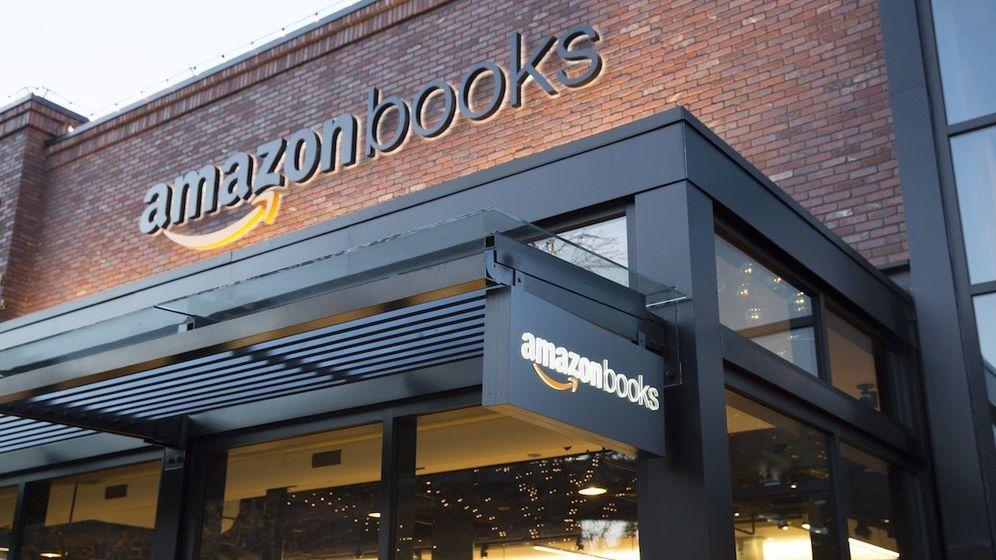 Foto: Primera librería física de Amazon en Seattle.