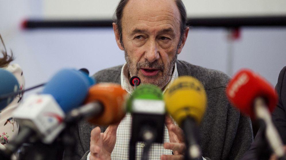 Foto: El exministro Alfredo Pérrez Rubalcaba. (EFE)