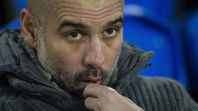 Pep Guardiola no cree que el City esté aún a la altura de los mejores equipos de Europa. (EFE)