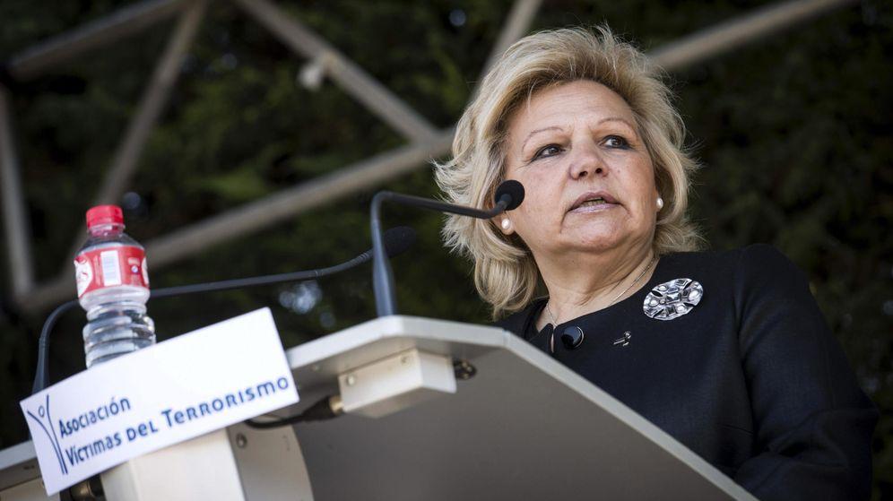 Foto: La presidenta de la Asociación de Víctimas del Terrorismo (AVT), Ángeles Pedraza. (EFE)