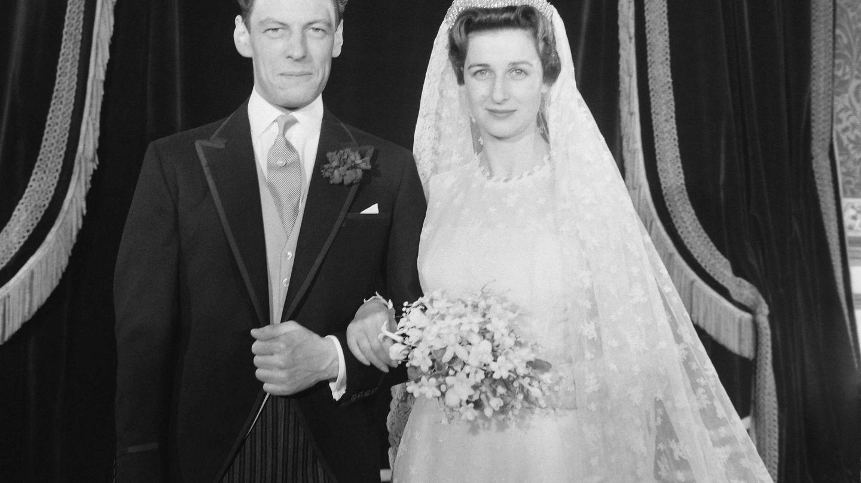 La princesa Alexandra, tía de Gabriella, con la tiara. (Cordon Press)