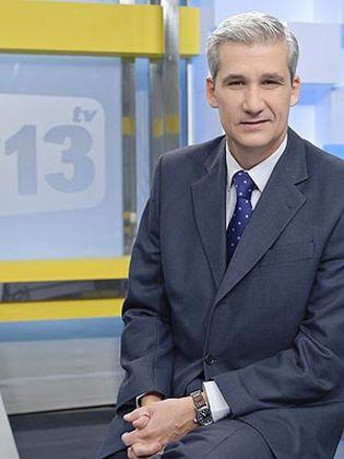 Foto: Víctor Arribas, del 'Madrid Opina' de Telemadrid a los servicios informativos del canal católico 13 tv