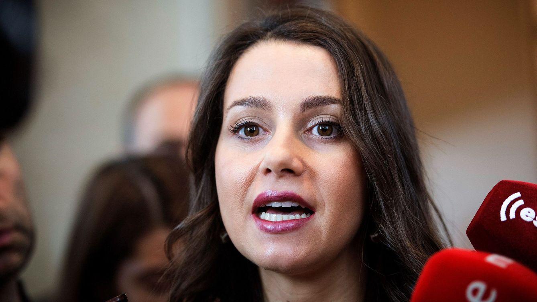 Inés Arrimadas: La nuestra es una solución de Estado, no una petición de sillones