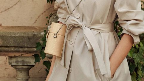 Estos bolsos cofre de Mango son perfectos para un paseo o una boda