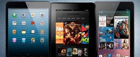 La elección en 'mini tablets': ¿Nexus 7, Kindle Fire HD o iPad mini?