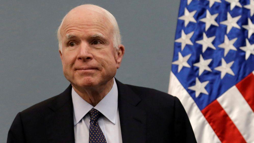Foto: El senador republicano John McCain. (Reuters)