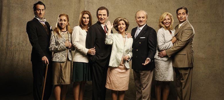 Foto: El reparto de 'La familia irreal'
