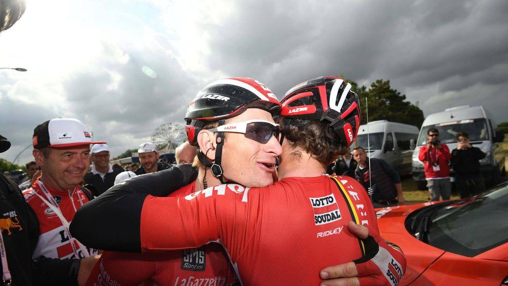 Greipel se marcha del Giro con un gran triplete porque el Tour es el Tour