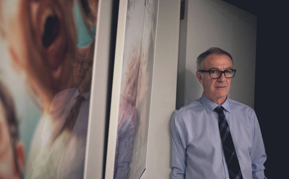 Foto: El ministro de Cultura, José Guirao, en su despacho. (Enrique Villarino)