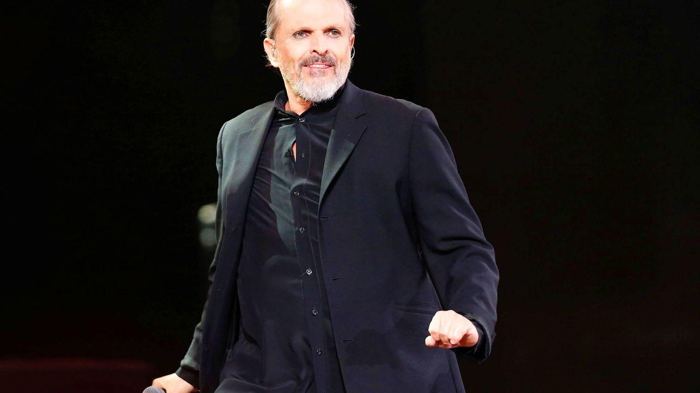 Miguel Bosé, durante un concierto. (Reuters)