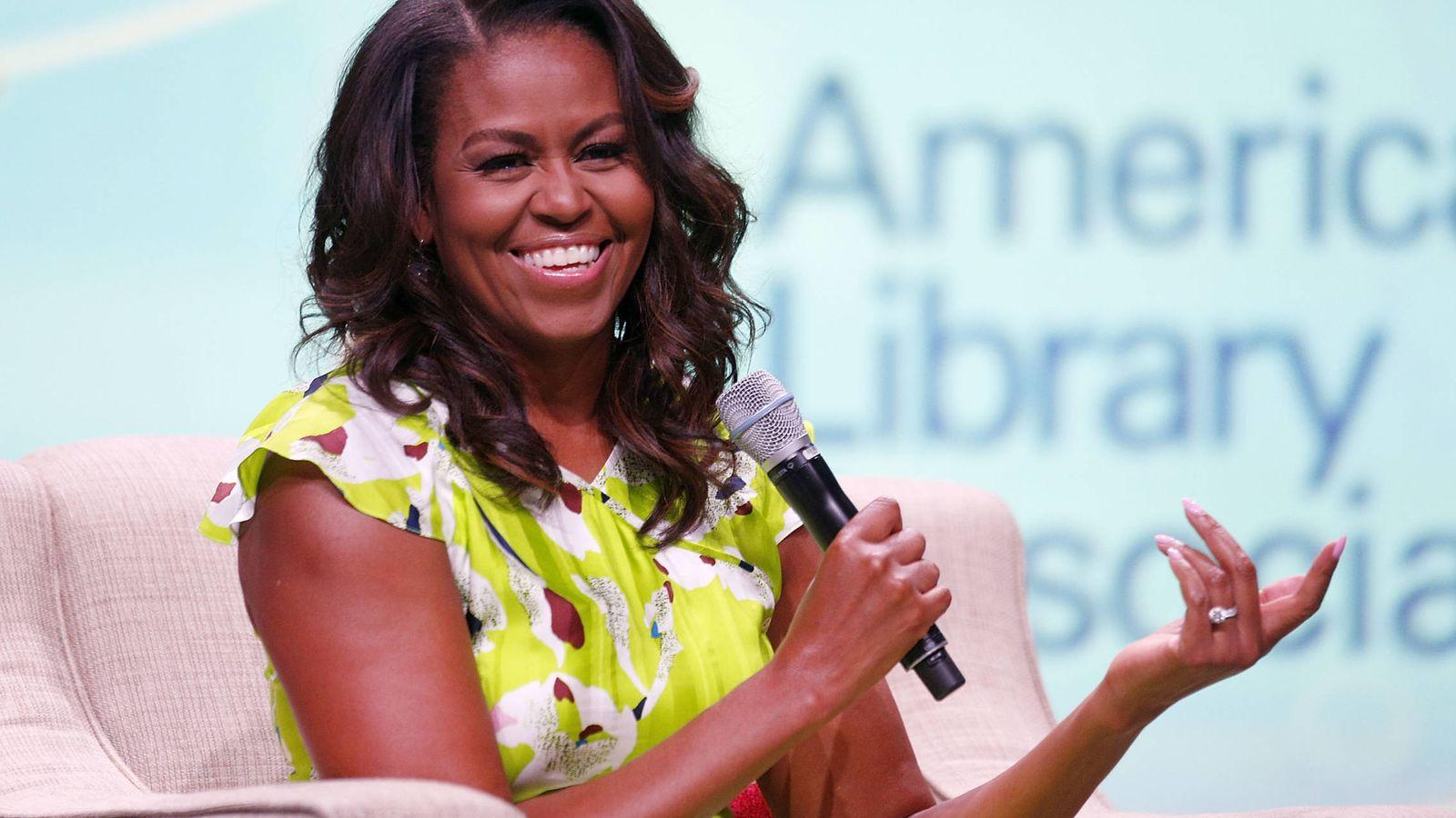 Foto: Michelle Obama, el pasado mes de junio. (Getty)