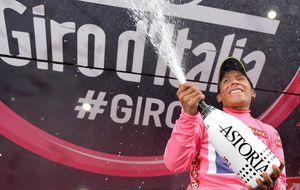 Quintana da otro recital en la cronoescalada y deja el Giro virtualmente sentenciado