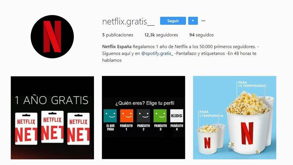 Más de 500€ por un perfil de Instagram: El negocio tras las cuentas falsas de Netflix