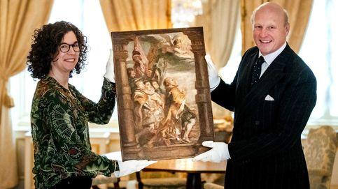 Descubren boceto de Rubens en La Haya