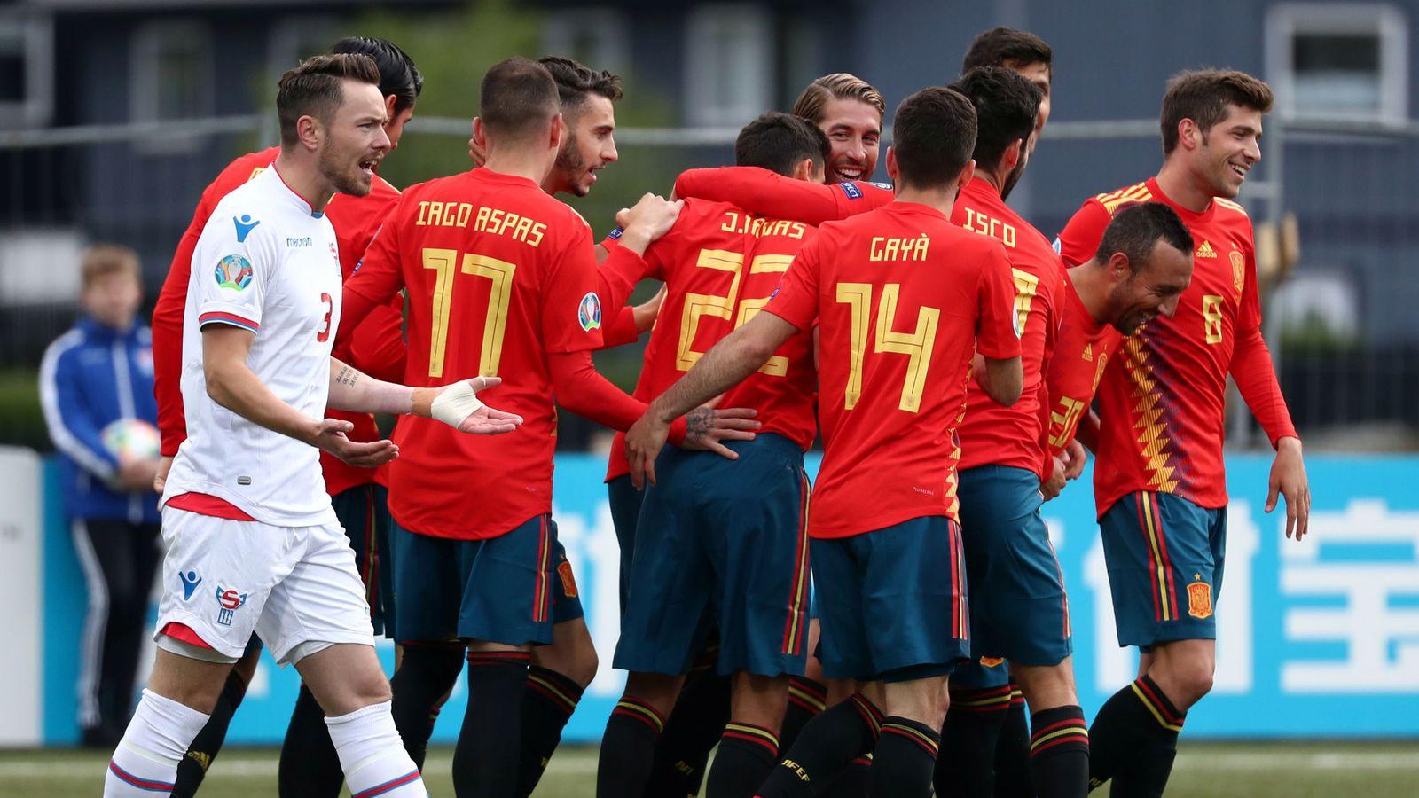 Foto: Euro 2020 qualifier - group f - faroe islands v spain