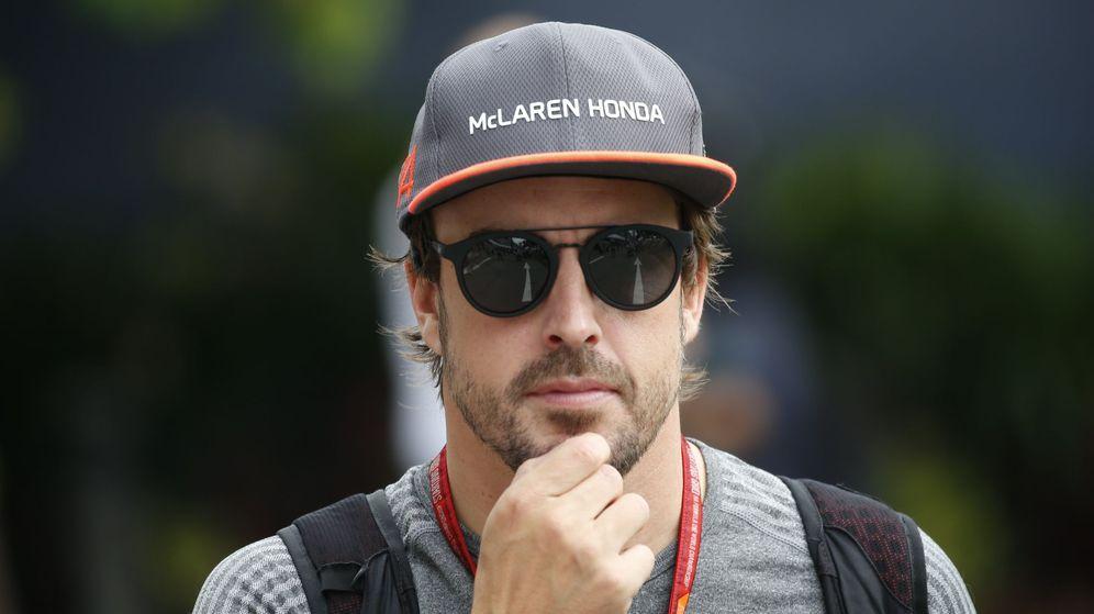Foto: Fernando Alonso en el GP de Sigapur. (EFE)
