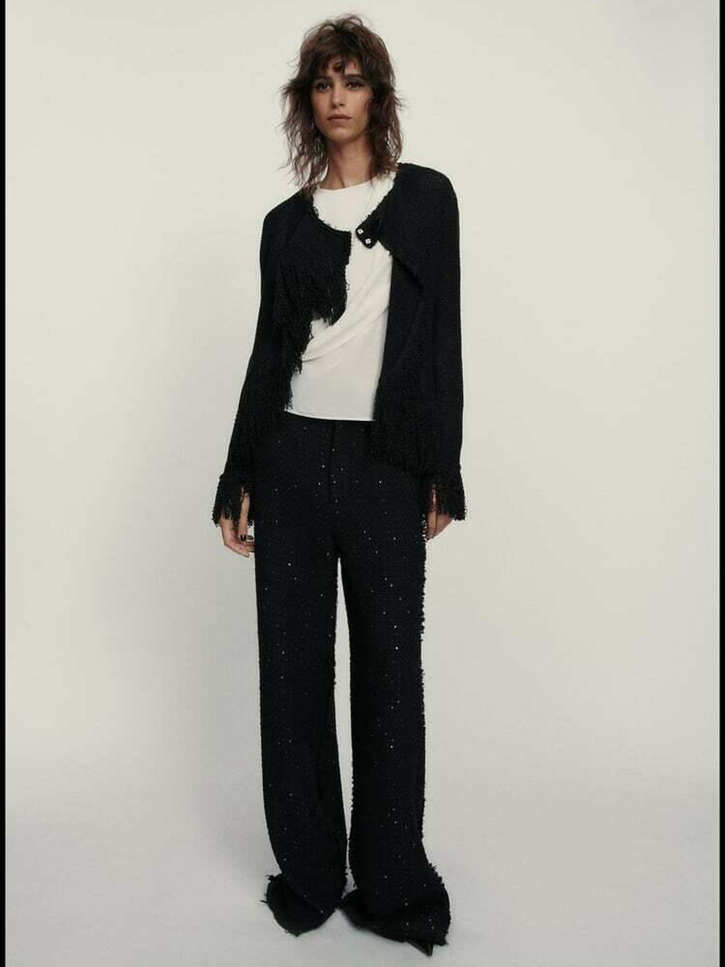 El nuevo pantalón de Zara. (Cortesía)