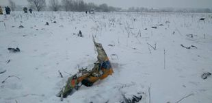Post de Mueren las 71 personas que viajaban a bordo del avión estrellado cerca de Moscú