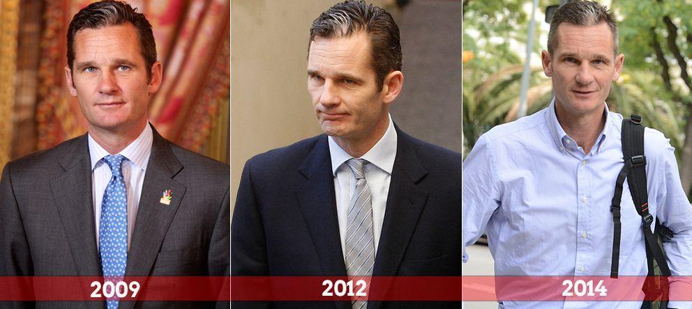 Foto: Los tres 'Urdangarines' de los últimos años
