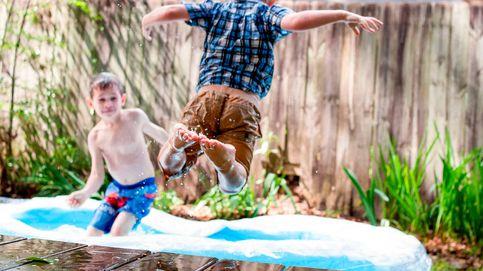 Las piscinas hinchables para refrescarte en el jardín