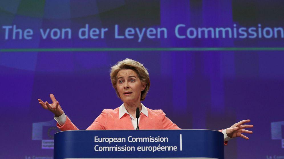 Foto: La presidenta de la Comisión Europea, Ursula von der Leyen, en Bruselas. (Reuters)