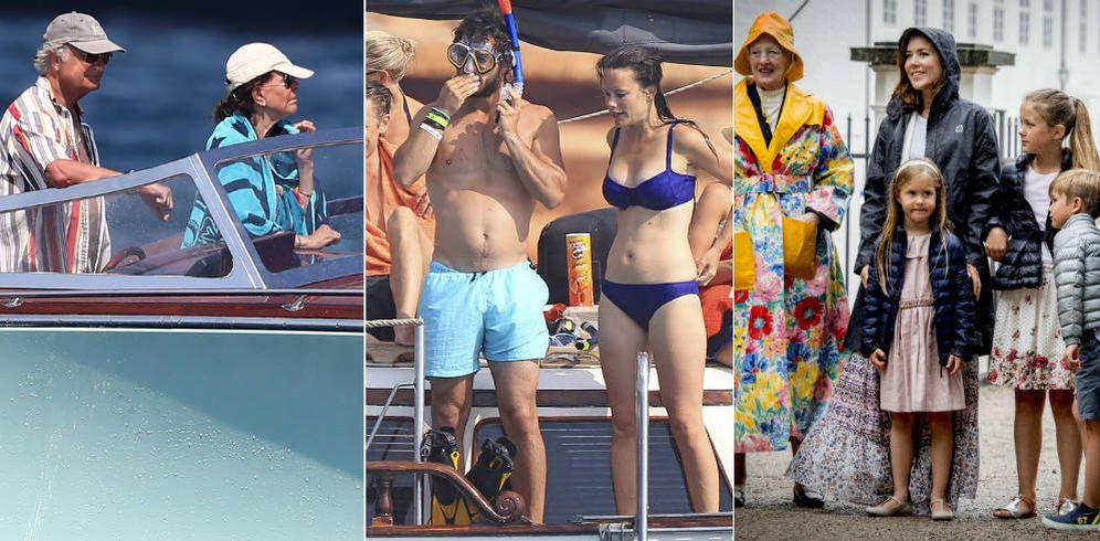 Foto: Las vacaciones de las familias reales. (Gtres)